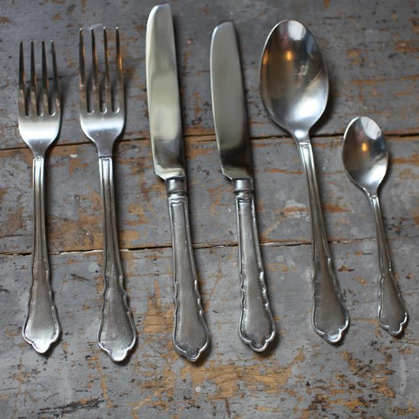 Vintage Silver Cutlery (4 pieces)