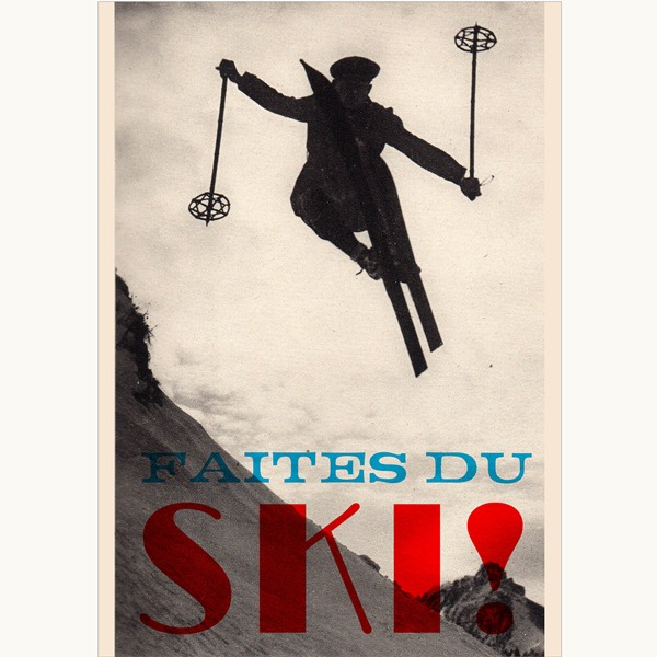 Faites Du Ski Limited Edition Giclee Print