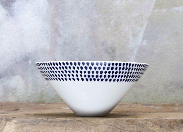 nkuku indigo drop bowl