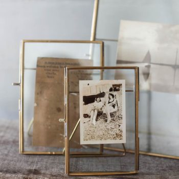 danta antique brass frame