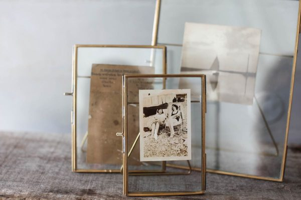 Danta Antique Brass Frames