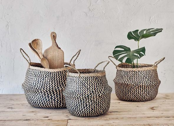 Nkuku Ekuri Basket Black & Natural