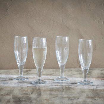 Nkuku Yala Champagne Glasses