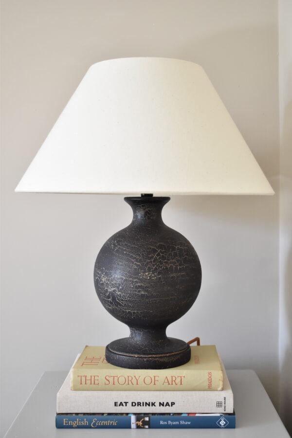Urku Round Lamp Large Calico Lampshade