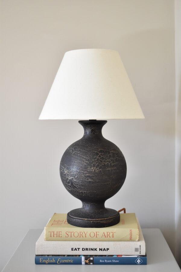 Urku Round Lamp Small Calico Lampshade