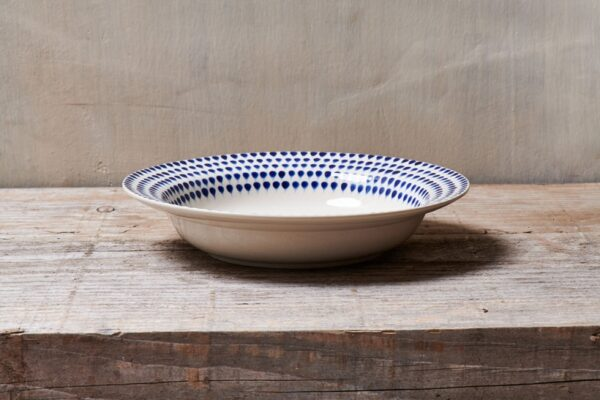 Indigo Drop Pasta Bowl